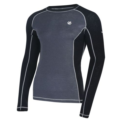 Men's Advanced Wool Base Layer Set Black Ebony
